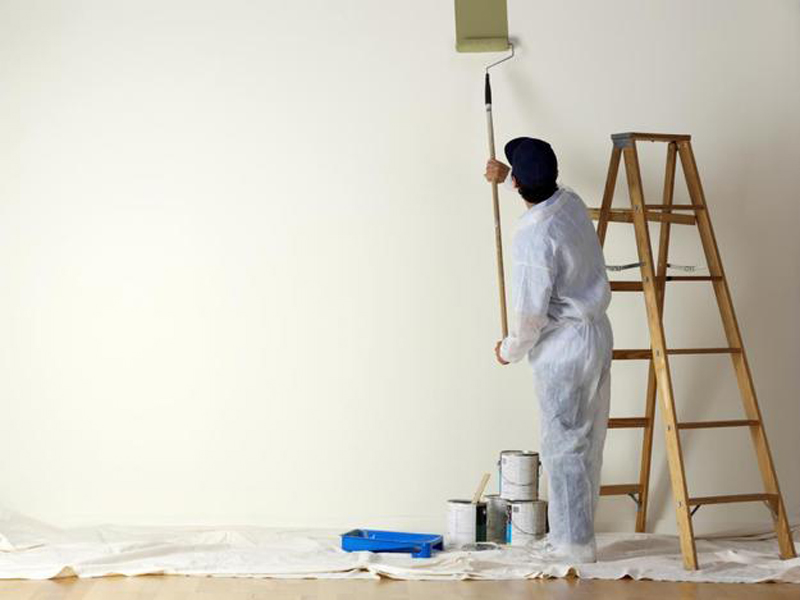 Как самостоятельно покрасить стены в квартире